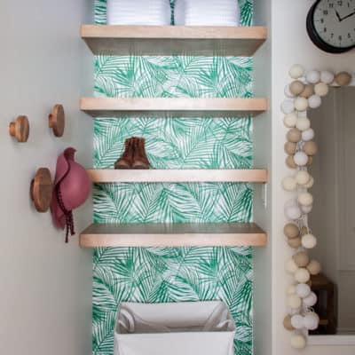 Jungle Chic Closet Makeover
