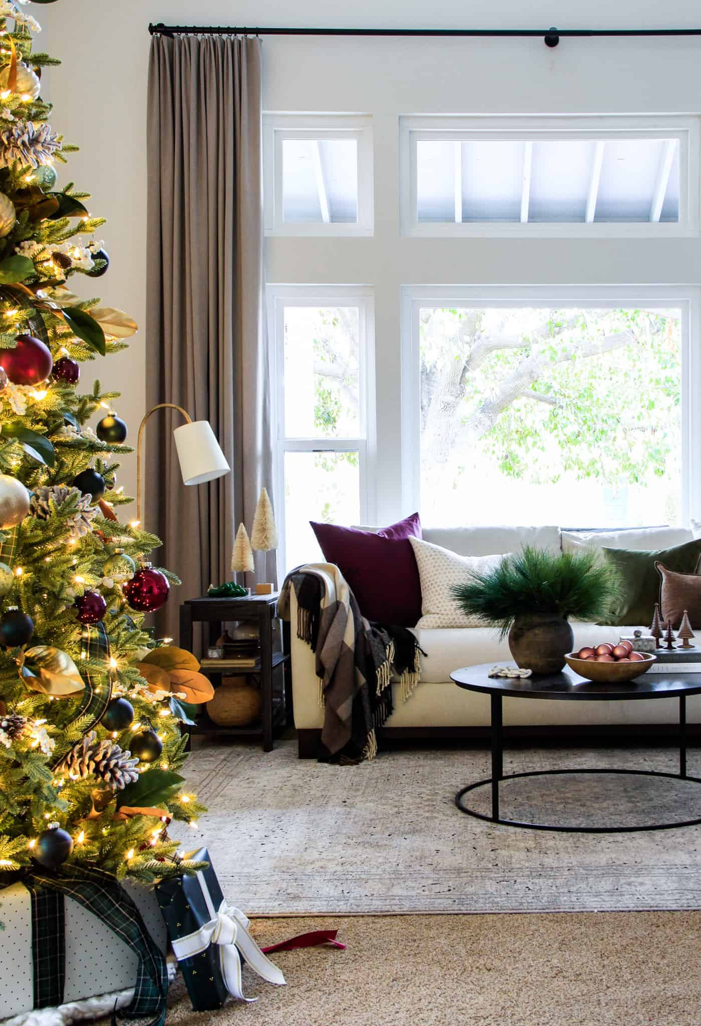 Christmas Tour Formal Living Room 2019