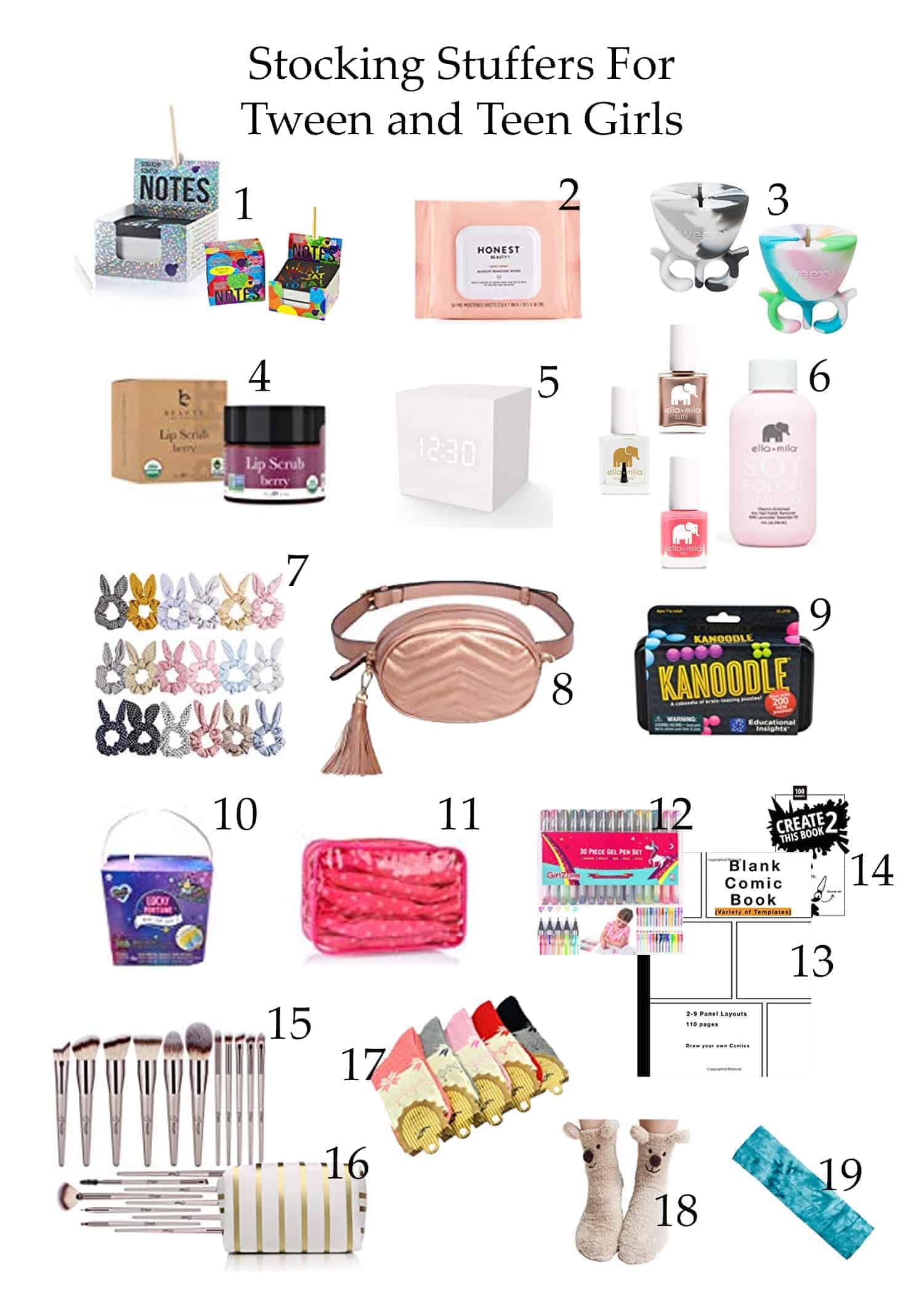 Stocking Stuffers for Tween and Teen Girls