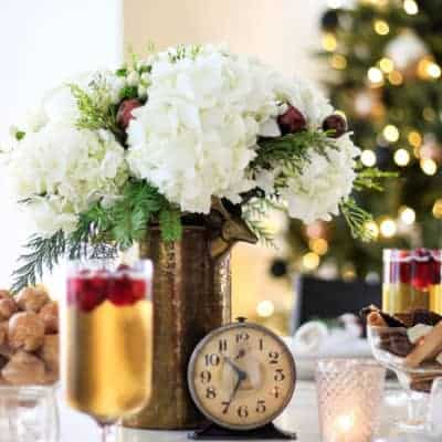 Elegant New Year's Eve Tablescape