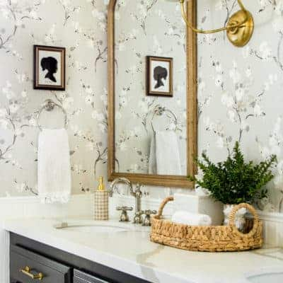 How to Decorate a Double Vanity Countertop