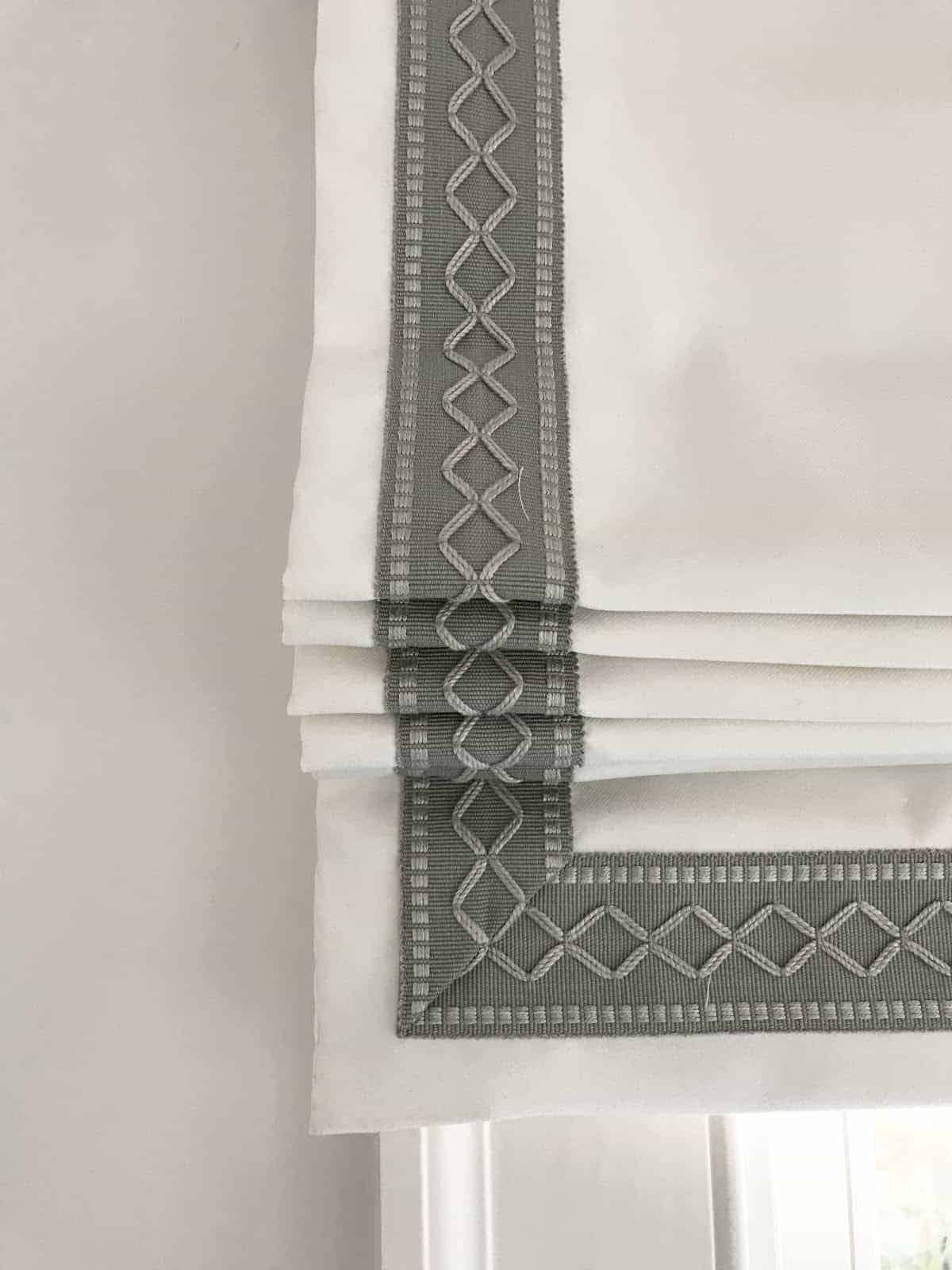 pinterest faves and saves roman shade trim