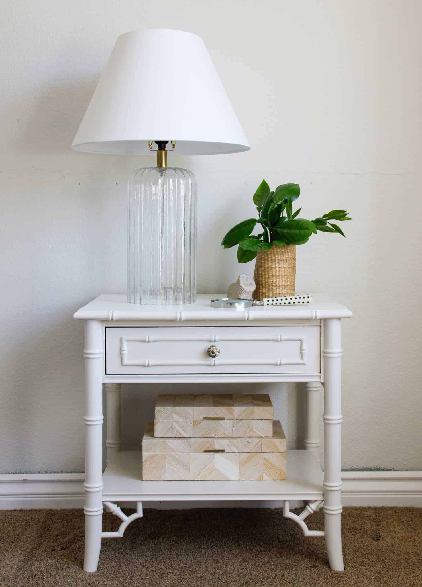 chippendale nightstand makeover