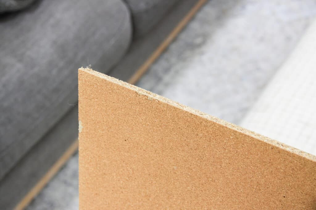 cork board without frame