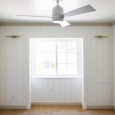 How to Install Pre-Primed Vertical Shiplap