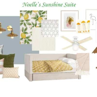 Wildflower Home Blog | Sunshine Suite Bedroom – ORC Week 1