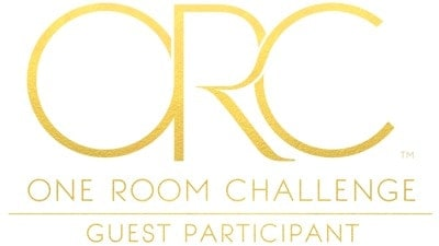 gold one room challenge logo