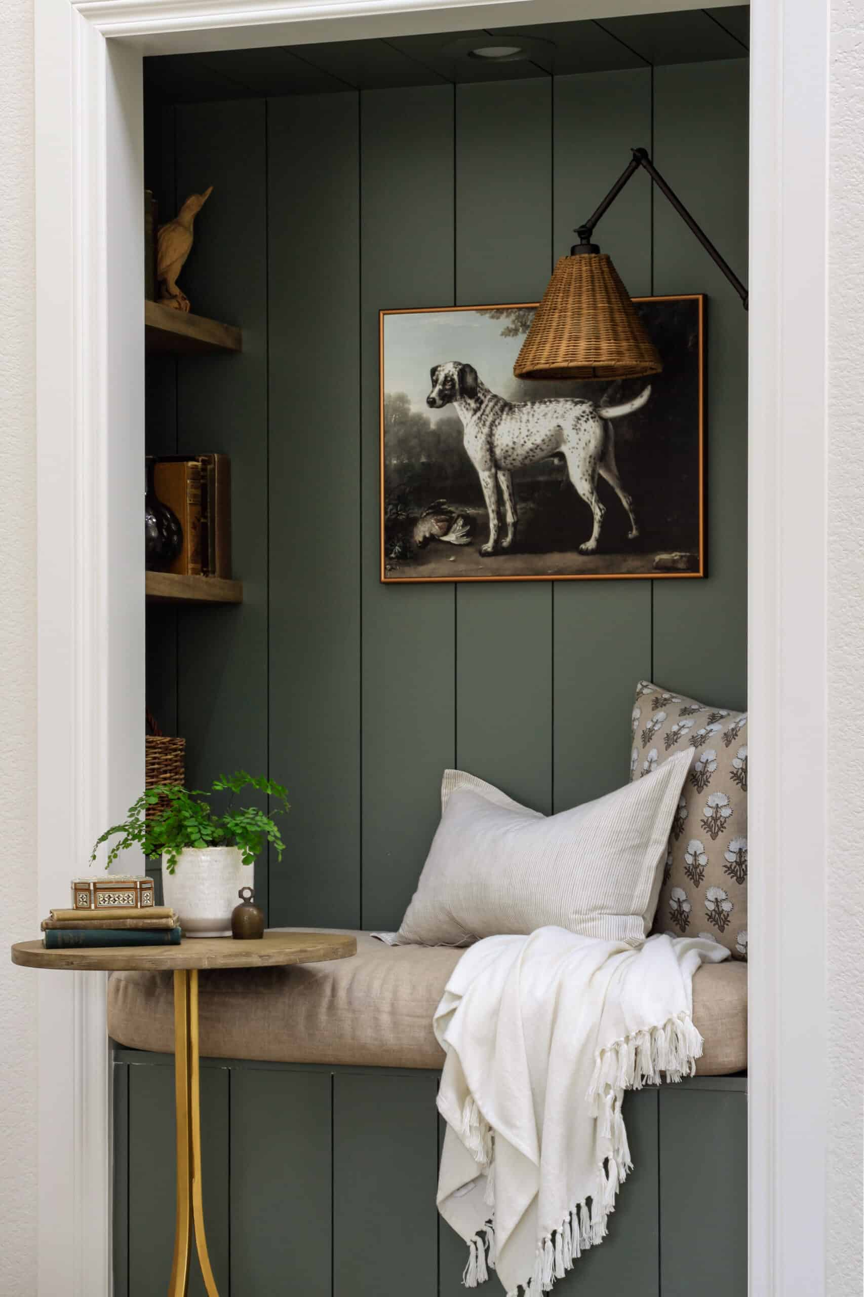 2020 yearly wrap up green reading nook