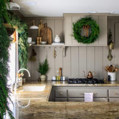 Christmas in the Kitchen and Breakfast Nook