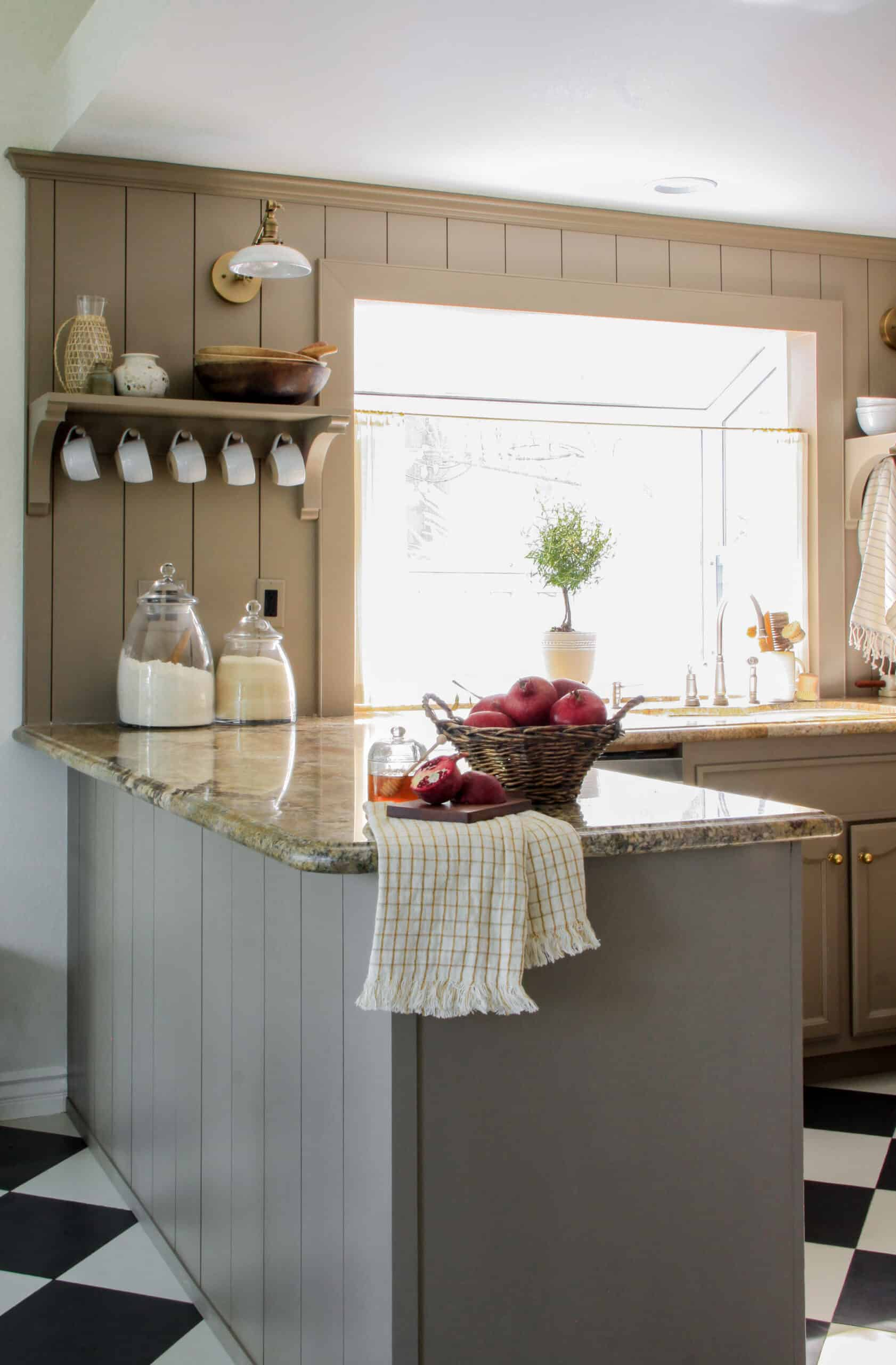 cozy cafe kitchen makeover budget