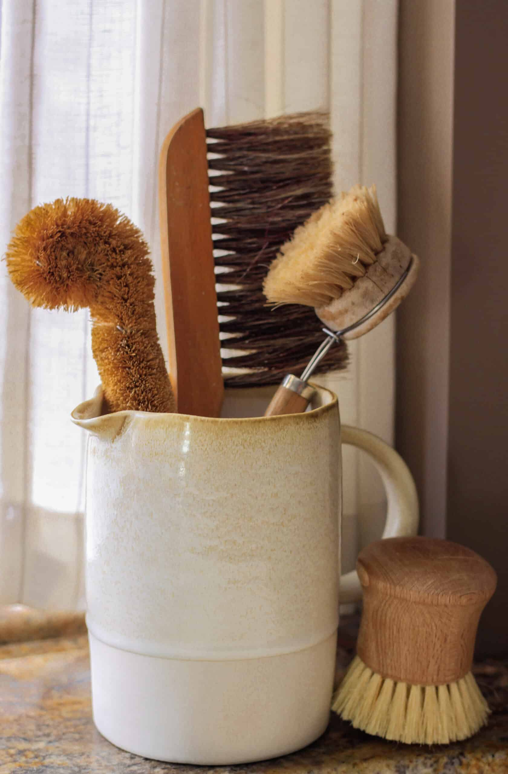 cozy cafe kitchen budget makeover brushes