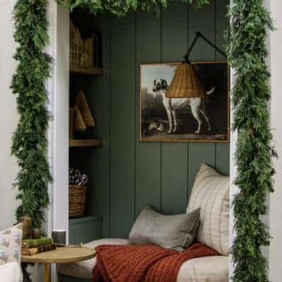 Lush Christmas Garland That's Easy and Affordable