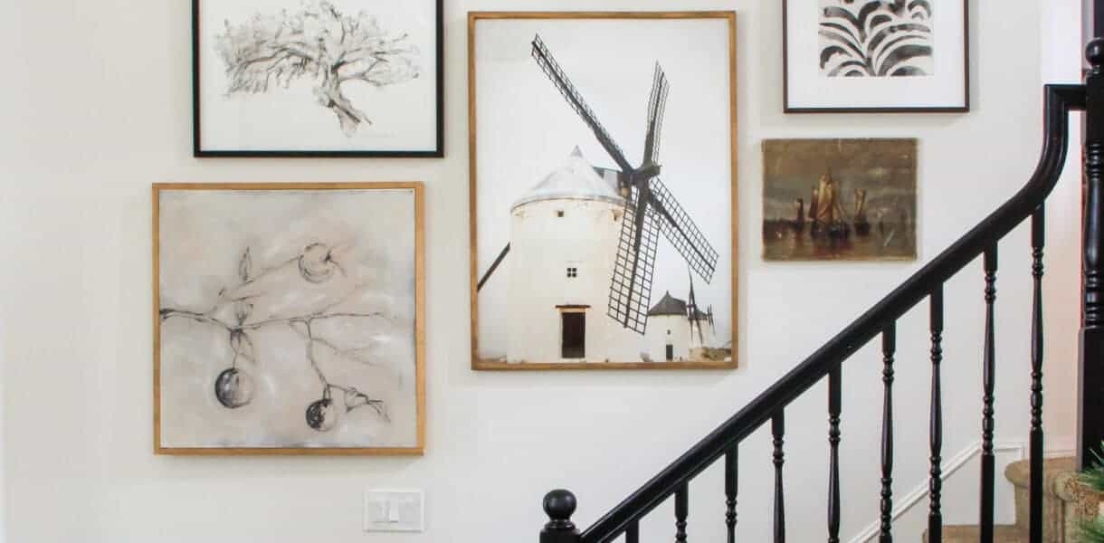 Collected Staircase Gallery Wall Art