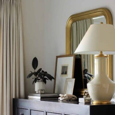 Gilded Mirror Makeover