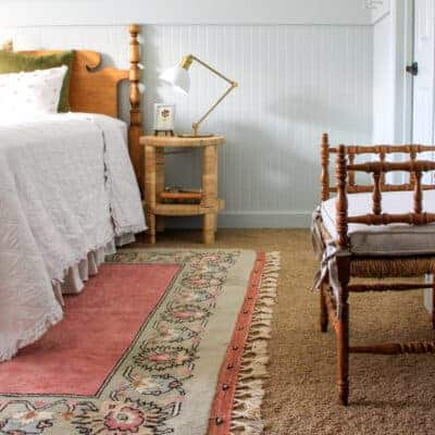 One-of-a-Kind Vintage Rug in Noelle's Room