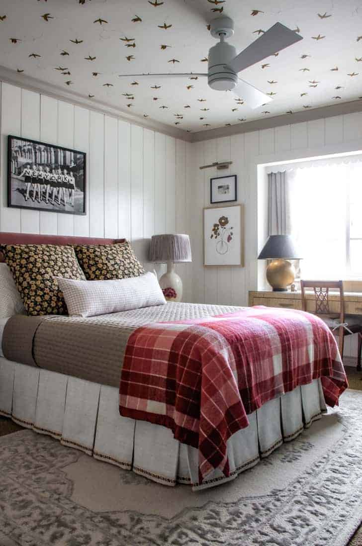 girl's nyc apartment meets english cottage bedroom
