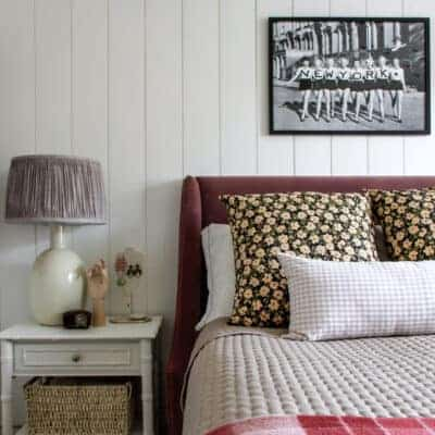 NYC Apartment Meets English Cottage-Hannah's Room