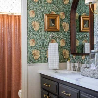 Storybook Style Bathroom Refresh
